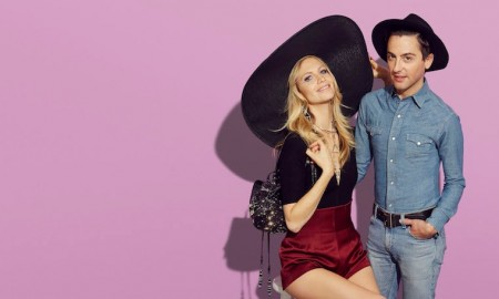 Eddie Borgo and Poppy Delevingne. Photo: Target