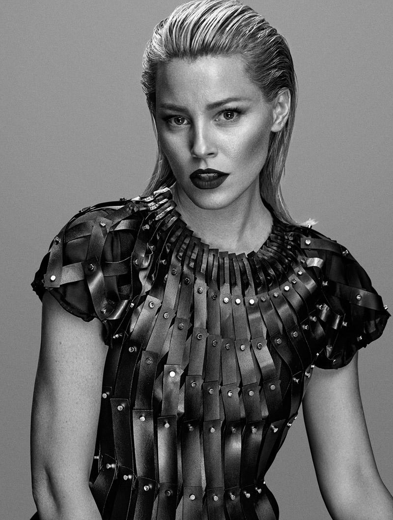 Elizabeth Banks Gets Dark for Flaunt Shoot by Hunter & Gatti