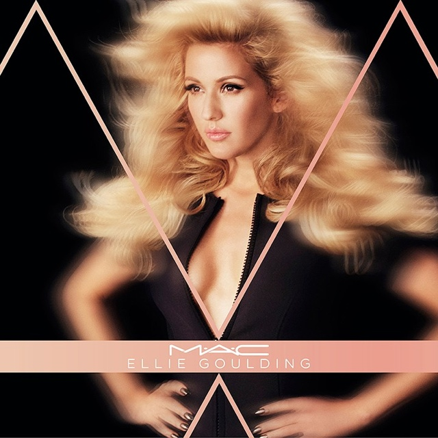 MAC has announced its Ellie Goulding makeup collaboration