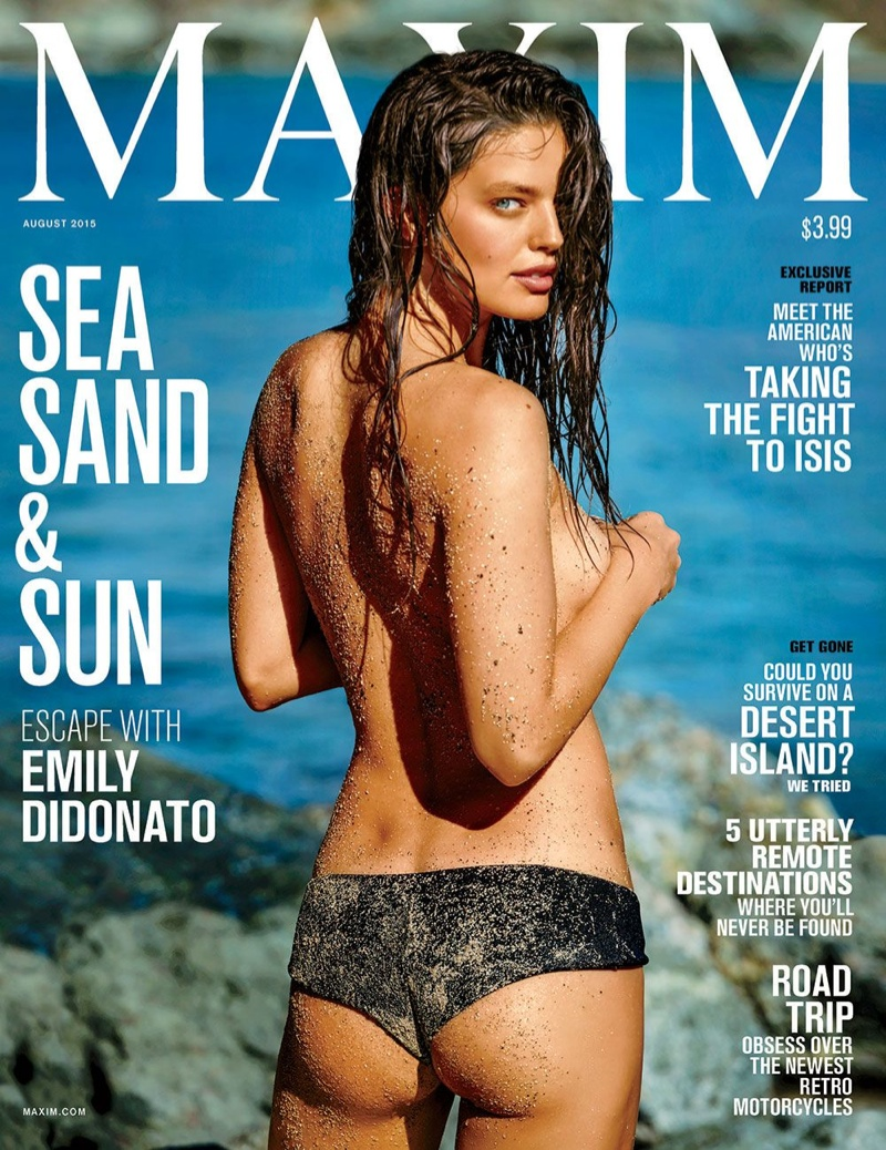 Emily DiDonato is a Swimsuit Stunner in Maxim Cover Shoot