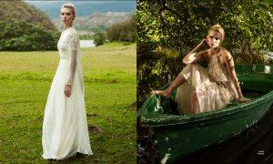 Emily Senko Enchants for Bazaar Latin America Bride by Tigre Escobar