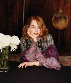 Emma Stone Stars in WSJ. Magazine, Talks Passing Up Female Ghostbusters Role