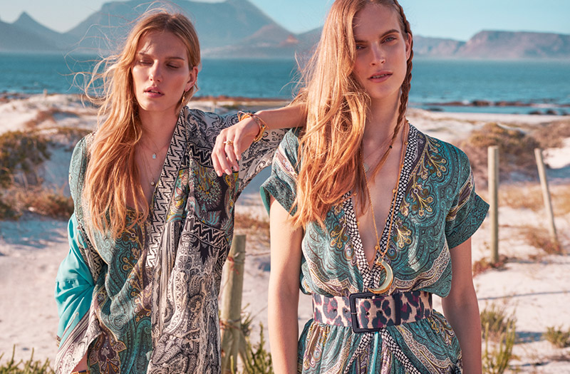 Cool Summer: Etro Creates Exclusive Capsule Collection for Net-a-Porter