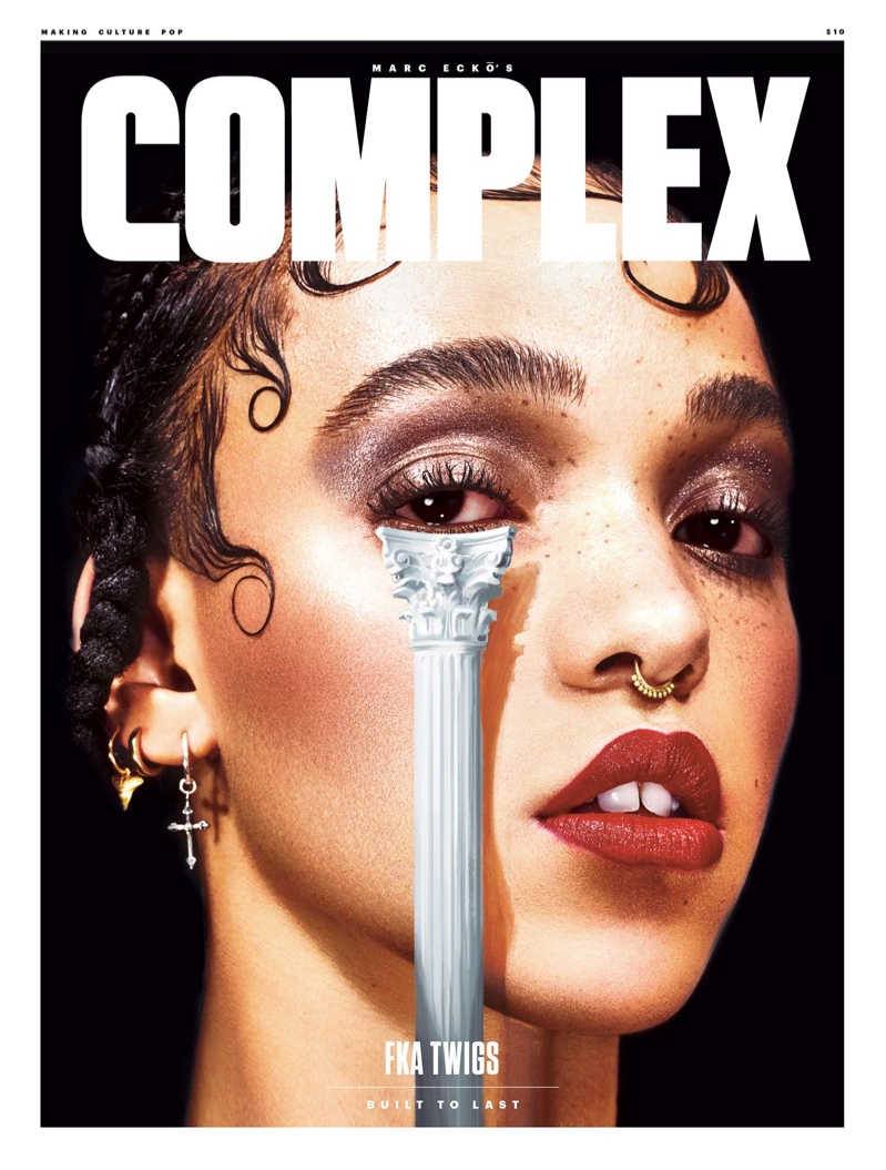 FKA Twigs lands the June-July 2015 cover of Complex Magazine