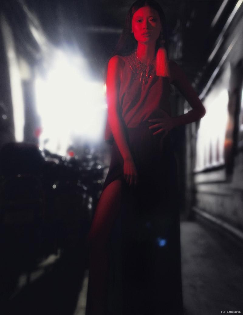 Top & Earrings stylist's own, Trouser Zara