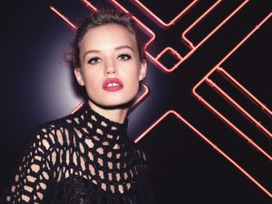 Georgia May Jagger Gets the London Look in Rimmel Makeup Ads