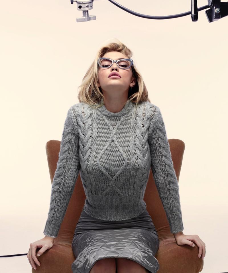 Gigi Hadid stars in Max Mara's fall-winter 2015 advertising campaign