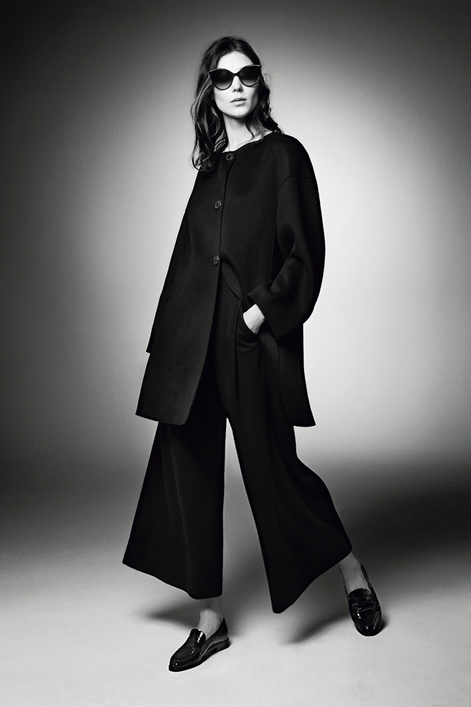 Kati Nescher Suits Up for Armani 'New Normal' Ads