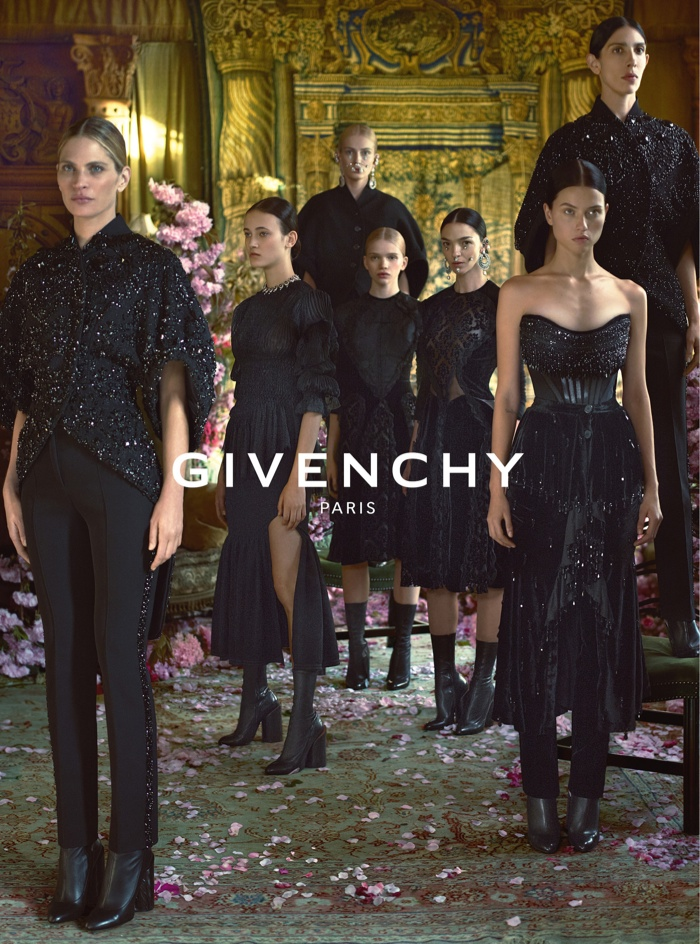 An image from Givenchy's fall-winter 2015 advertisement