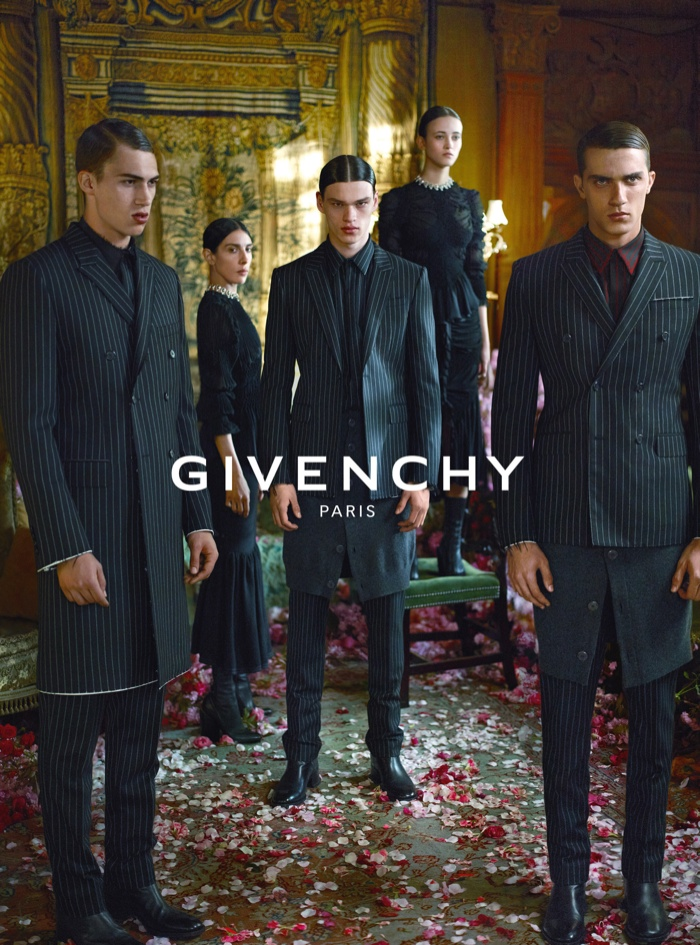 An image from Givenchy's fall-winter 2015 campaign