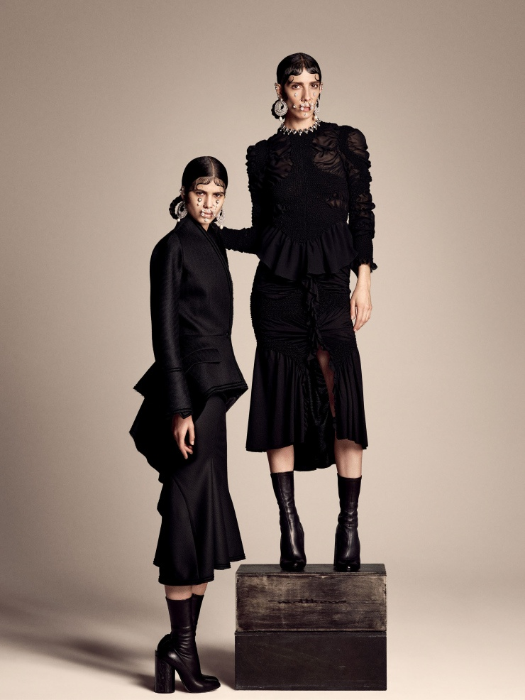 Givenchy's Fall 2015 Collection Gets the Editorial Treatment in Vogue Japan