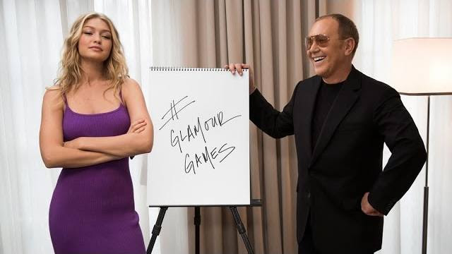 See Gigi Hadid Compete Against Michael Kors in the 'Glamour Games'