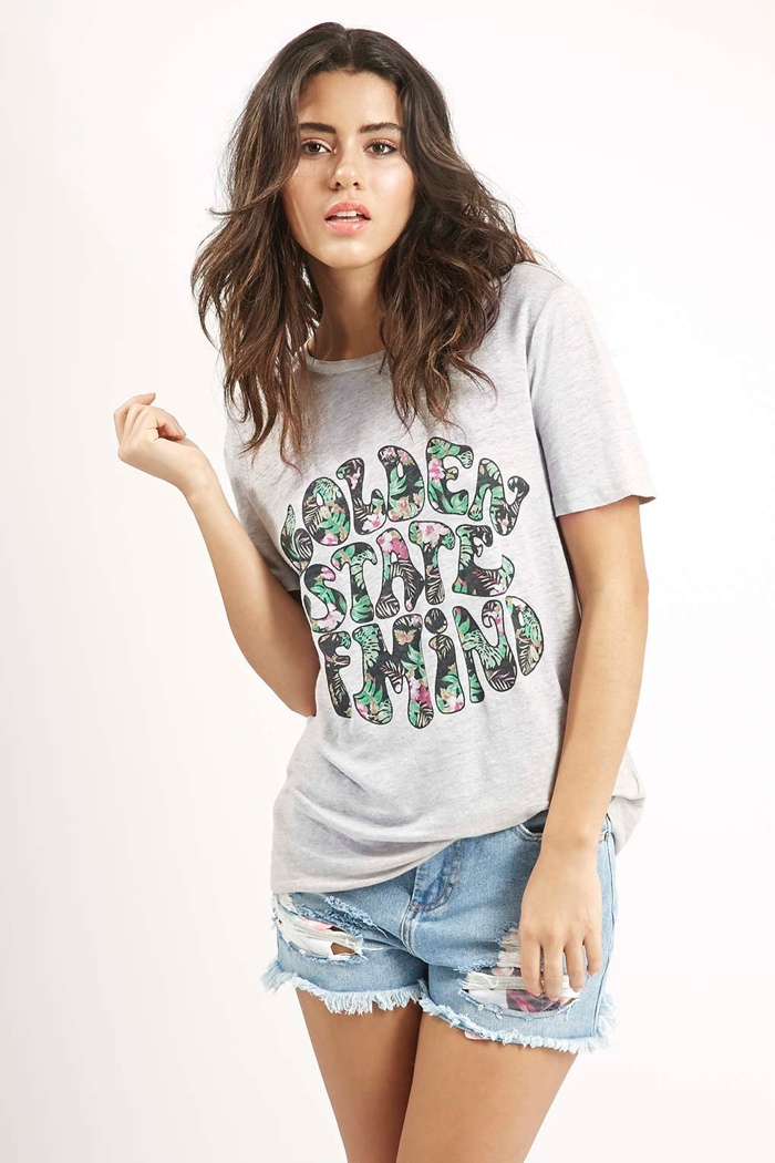 Golden State of Mind Tee by Kendall + Kylie for Topshop available for $52.00