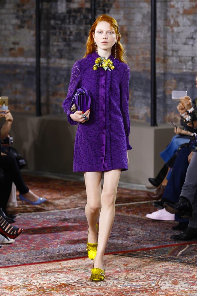 A look from Gucci's resort 2016 collection