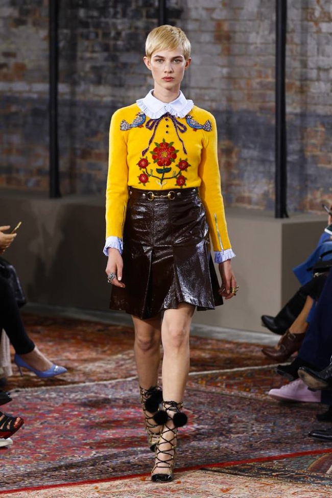 A look from Gucci's cruise 2016 collection