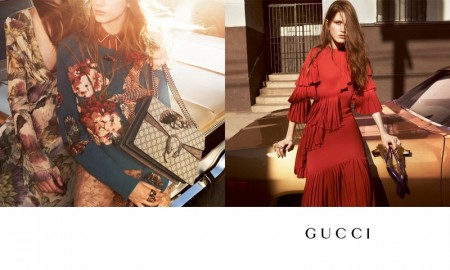 Gucci went to the streets of Los Angeles for its fall-winter 2015 campaign photographed by Glen Luchford.