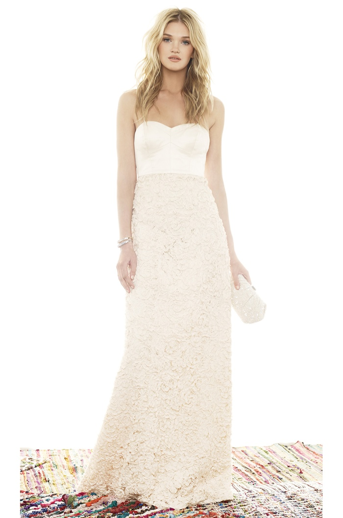 Heartloom x REVOLVE 'Sandra' Gown in Antique Lace available for $590.00