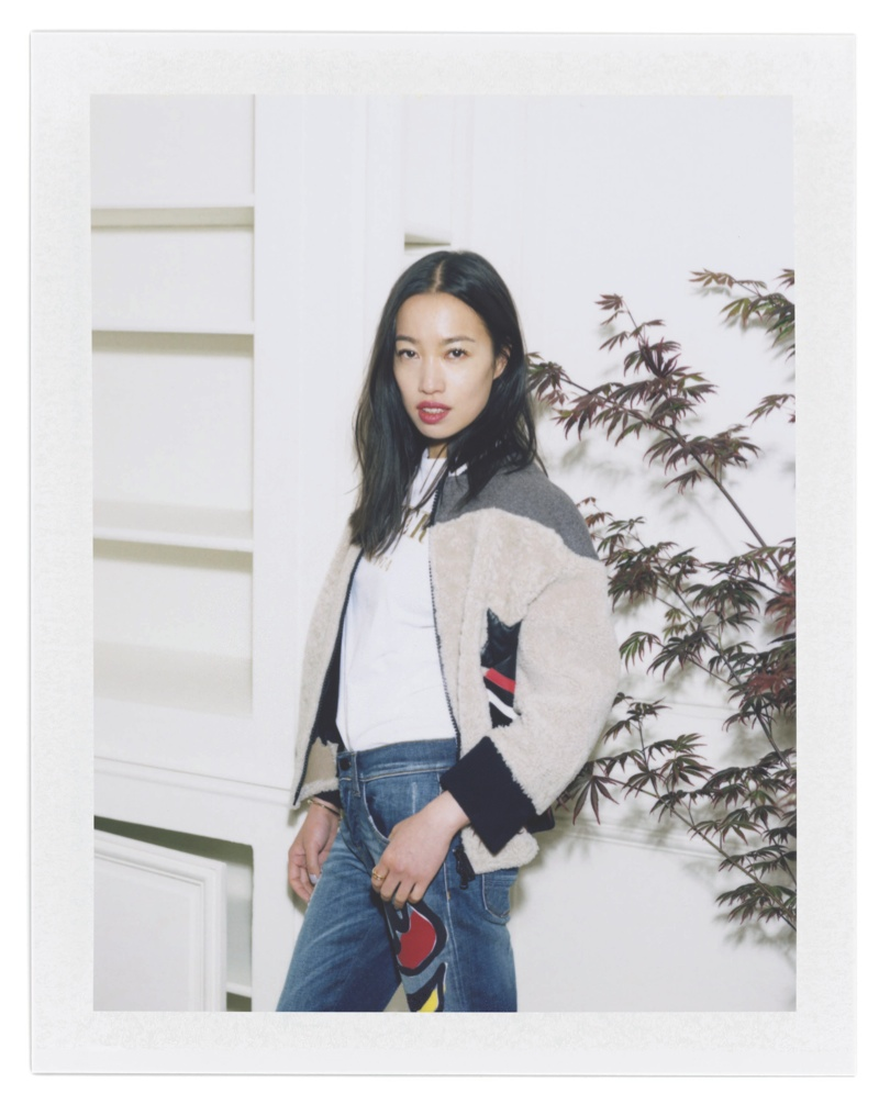 Chinese artist Yi Zhou for Iceberg fall-winter 2015 advertising campaign