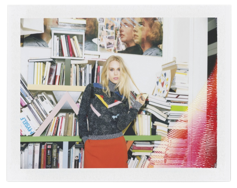DJ Mary Chateris for Iceberg fall-winter 2015 advertising campaign