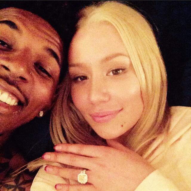 Iggy Azalea is engaged to LA Lakers player Nick Young