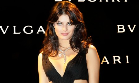 Isabeli Fontana at Bulgari fragrance launch