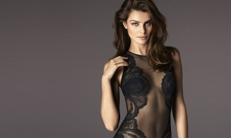 Isabeli Fontana for La Perla fall-winter 2015 advertising campaign