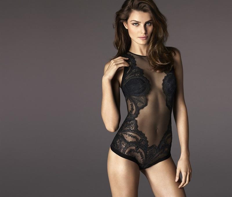 Isabeli Fontana Joins La Perla Lingerie's Fall 2015 Ads