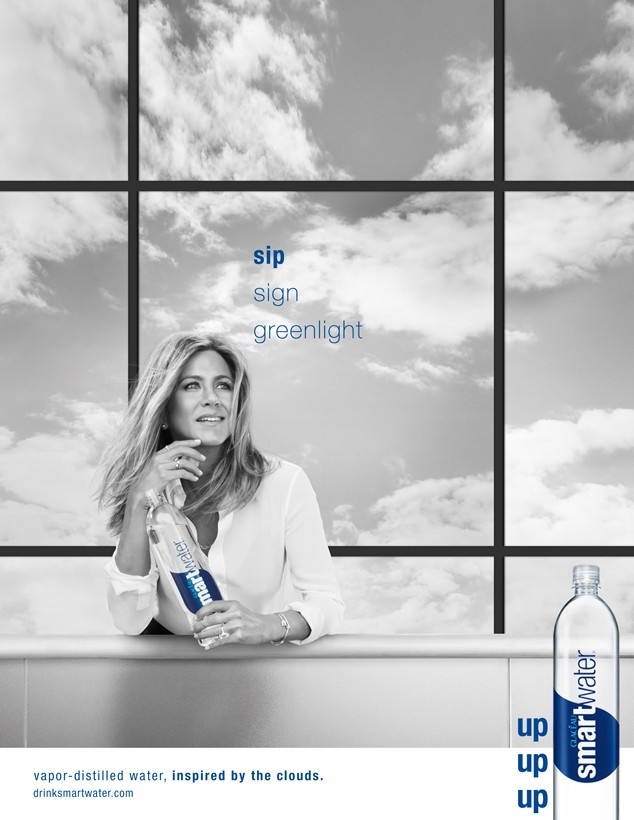 Jennifer Aniston is Picture Perfect in New Smartwater Ads
