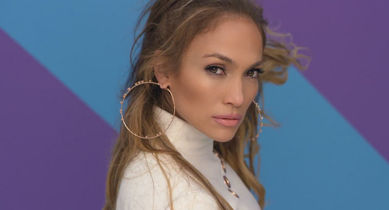 Jennifer Lopez stars in 'Back it Up' music video