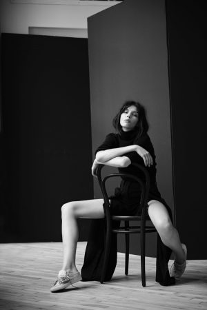 Kate Bogucharskaia Strips Down to Basics for Centrefold by Eric Guillemain