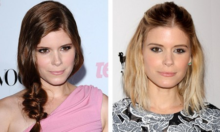 Kate Mara's hair color has changed through the years. Photo: Shutterstock.com