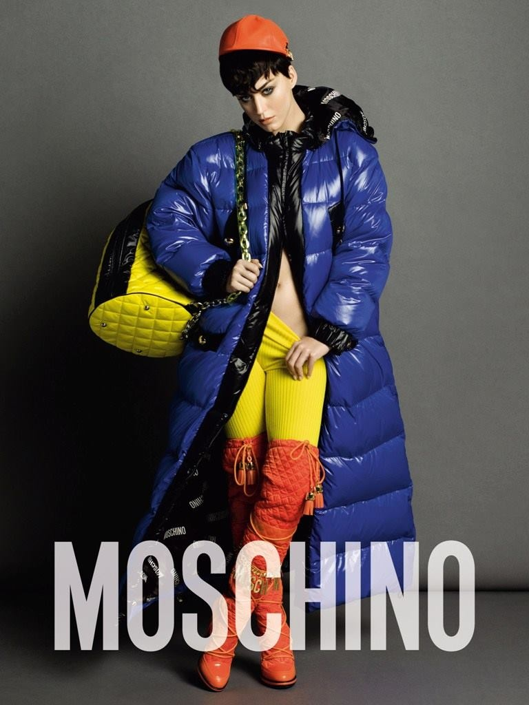 Katy Perry fronts Moschino's fall-winter 2015 advertisements