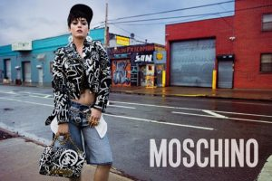 Katy Perry Shows Some Skin for Moschino Fall 2015 Campaign