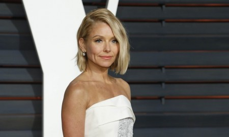 BEFORE: Kelly Ripa with blonde hair. Photo: Helga Esteb / Shutterstock.com