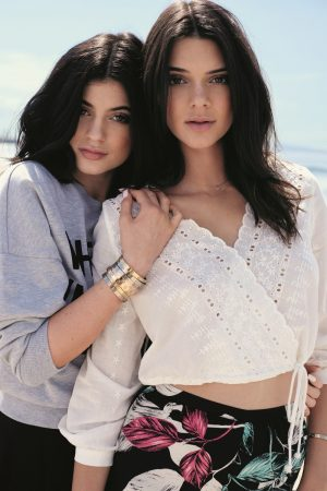 Kendall + Kylie Jenner Model California Themed Topshop Collaboration