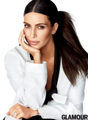 Kim Kardashian Stars in Glamour & Opens Up About New Pregnancy