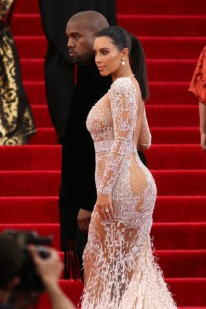 Carolina Herrera is Not a Fan of Kim Kardashian's Nearly Naked Look