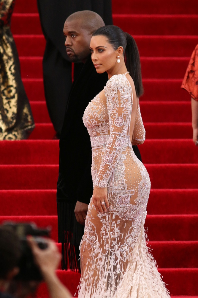 Kim Kardashian at the 2015 Met Gala. Photo: JStone / Shutterstock.com