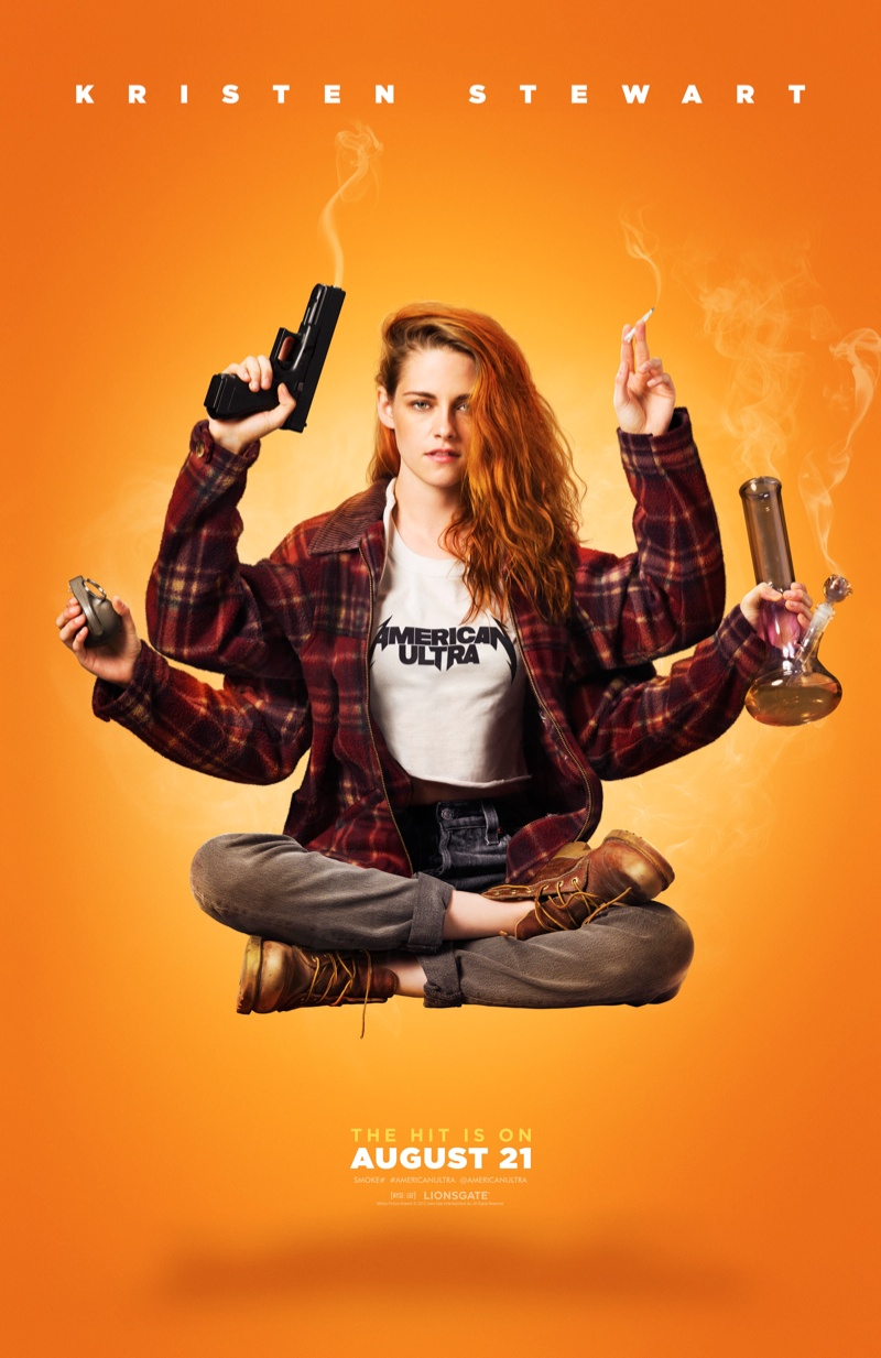 Another Look at a Stoner Kristen Stewart in 'American Ultra'