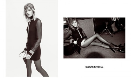 America's Next Top Model alum Leila Goldkuhl stars in Costume National fall-winter 2015 campaign
