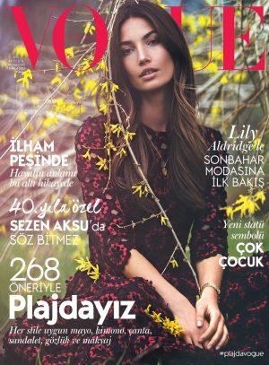 Lily Aldridge Looks Dreamy on Vogue Turkey July 2015 Cover