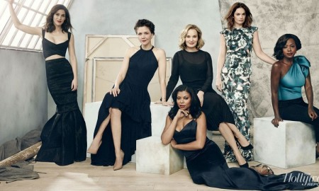 Taraji P. Henson, Viola Davis, Lizzy Caplan, Maggie Gyllenhaal, Jessica Lange, and Ruth Wilson for The Hollywood Reporter