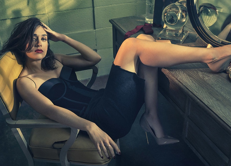 Lizzy Caplan Stars in Playboy Feature, Talks On-Camera Nudity