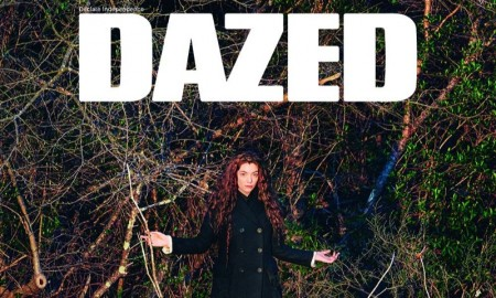 Lorde on Dazed's Summer 2015 Cover