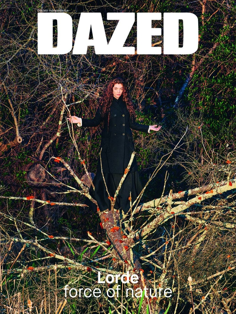Lorde is a 'Force of Nature' for Dazed's Summer 2015 Cover