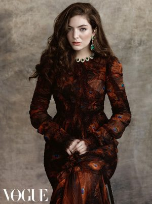Lorde is Sitting Pretty for Her First Vogue Australia Cover