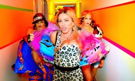 Madonna in 'Bitch I'm Madonna' music video