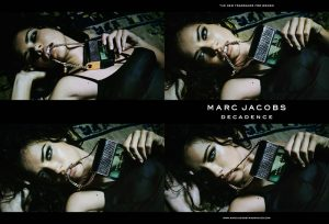 Adriana Lima Gets Sultry in Marc Jacobs 'Decadence' Fragrance Campaign
