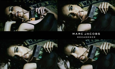 Adriana Lima for Marc Jacobs Decadence Fragrance advertising campaign