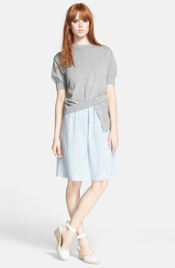 Marc By Jacobs Twisted Hem Gingham Sweater Dress Available For 143 20